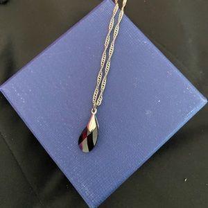 CND necklace with swarovski stone